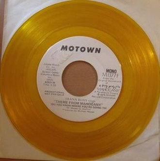 Theme from Mahogany (Do You Know Where You're Going To) - Image: Mahogany 45 RPM promo
