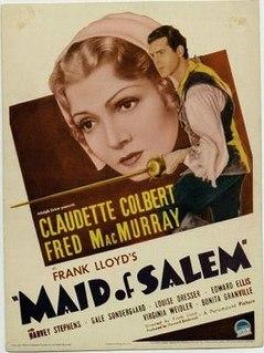 <i>Maid of Salem</i> 1937 film by Frank Lloyd