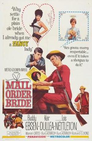 Mail Order Bride (1964 film) - Image: Mail Order Bride Film Poster