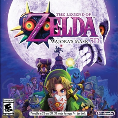 Picture of a game: The Legend Of Zelda: Majora's Mask 3d