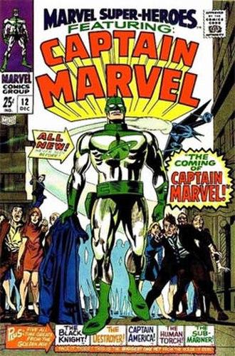 Marvel Super-Heroes (comics) - Image: Marvel sup heroes 01