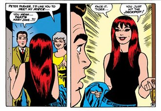 Mary Jane Watson - Image: Mary Jane Watson (The Amazing Spider Man 42 (November 1966))