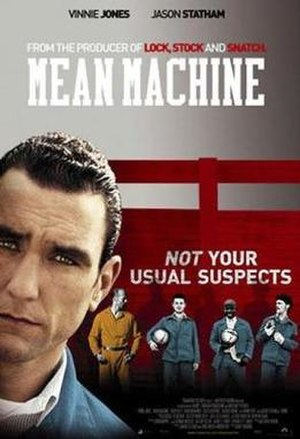Mean Machine (film) - Theatrical release poster