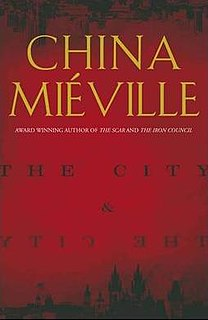 <i>The City & the City</i> science fiction novel by China Miéville
