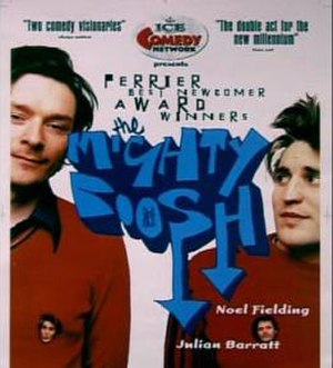 The Mighty Boosh (1998 stage show) - Promotional poster for the 1998 show