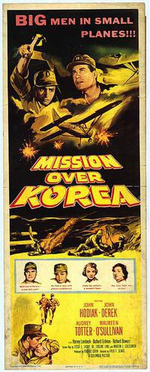 Mission Over Korea - Theatrical poster