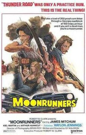 Moonrunners - Theatrical release poster