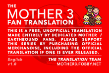 Mother 3 fan translation - Wikipedia
