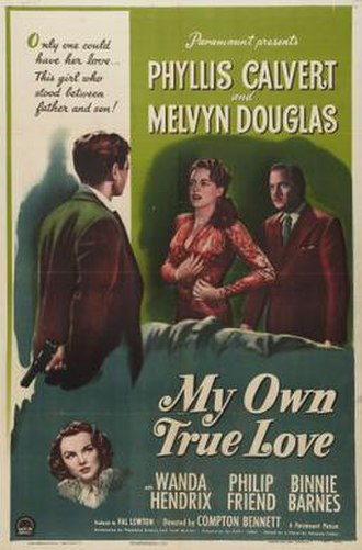My Own True Love - Theatrical release poster
