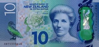 New Zealand ten-dollar note - Image: NZ Dollar Ten
