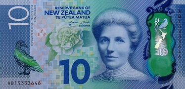 New Zealand 10 Note Sixth Issue