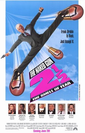 The Naked Gun 2½: The Smell of Fear - Theatrical release poster