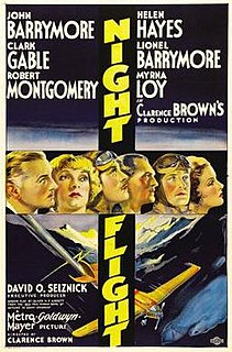 <i>Night Flight</i> (1933 film) 1933 film by Clarence Brown