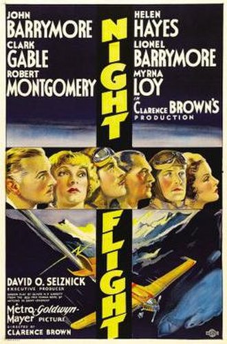 Night Flight (1933 film) - Night Flight theatrical poster