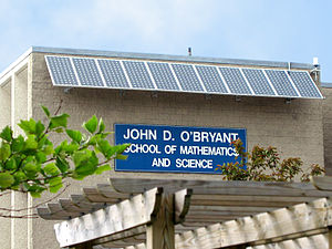 John D. O'Bryant School of Mathematics & Science - The Current Building of John D. O'Bryant