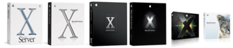 MacOS Server - Box artwork for Mac OS X Server versions 10.1–10.6