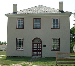 George Graham Vest - Old Johnson County Courthouse and location of the trial