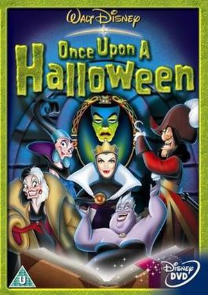 Once Upon a Halloween - British DVD cover