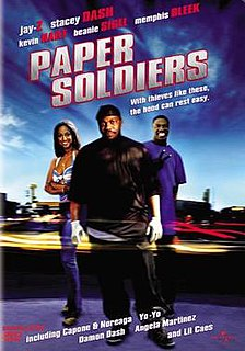 <i>Paper Soldiers</i> 2002 film directed by Damon Dash
