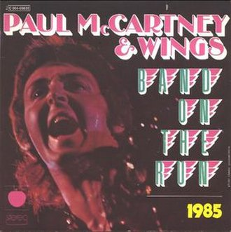 Band on the Run (song) - Image: Paul Mc Cartney Nineteen Hundred and Eighty Five