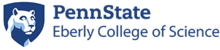 Penn State Eberly College of Science logo 2015 version.png