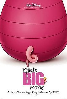 <i>Piglets Big Movie</i> 2003 animated film directed by Francis Glebas