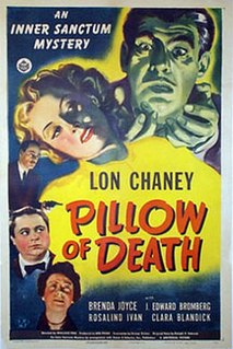 <i>Pillow of Death</i> 1945 film by Wallace Fox