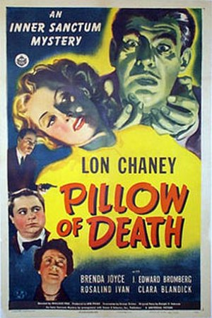 Pillow of Death - Poster for the film's release