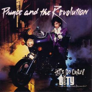 Let's Go Crazy - Image: Prince Crazy
