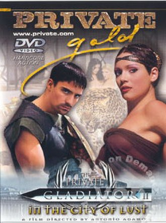 Private Gladiator - Private Gladiator: In the City of Lust, DVD cover
