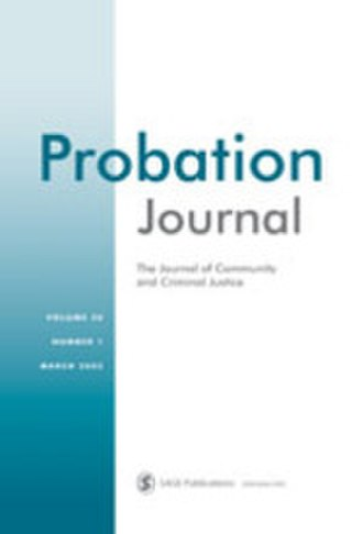 Probation Journal - Image: Probation Journa Front Cover
