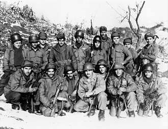 Puerto Rico National Guard - Puerto Rican National Guard Engineers in Korea, 60th Infantry Regiment.