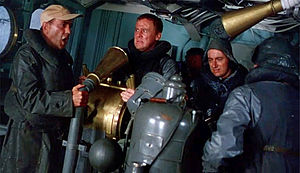 The Caine Mutiny (film) - The act of mutiny: LT Maryk's relief of Capt Queeg during the typhoon