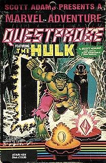 <i>Questprobe featuring The Hulk</i> 1984 video game
