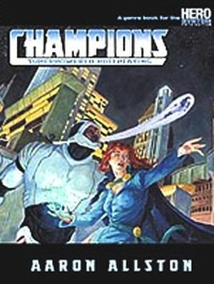 Champions (role-playing game) - Image: RPG Champions cover