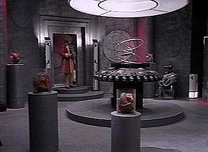 The Rani (Doctor Who) - The interior of the Rani's TARDIS