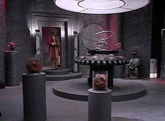 The Rani (Doctor Who) - The interior of the Rani's TARDIS