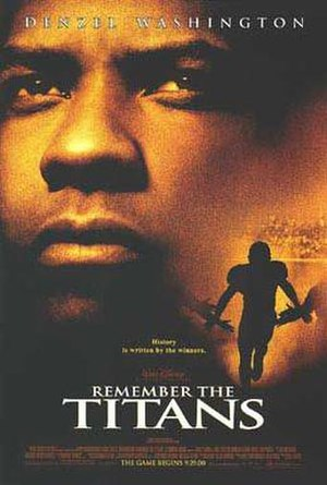 Remember the Titans - Theatrical release poster
