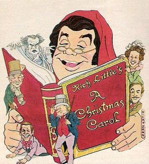 Rich Little's Christmas Carol - Artwork for Rich Little's Christmas Carol on HBO