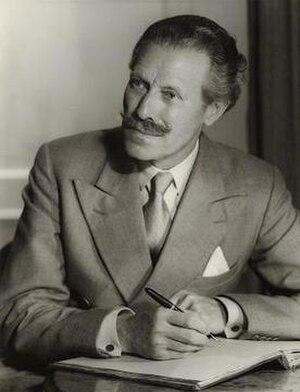 Mortimer Wheeler - Mortimer Wheeler in 1956