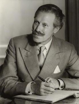 Mortimer Wheeler - Mortimer Wheeler in 1956