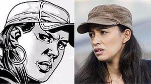 Rosita Espinosa - Image: Rosita comic show