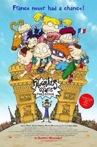 Rugrats in Paris: The Movie - Theatrical release poster