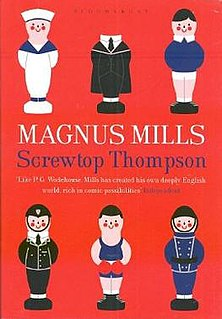 <i>Screwtop Thompson</i> book by Magnus Mills