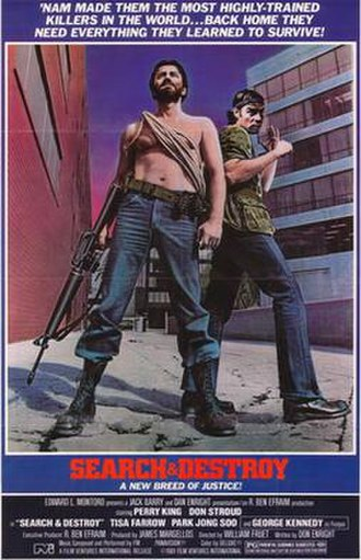 Search and Destroy (1979 film) - Image: Search and destroy movie poster 79
