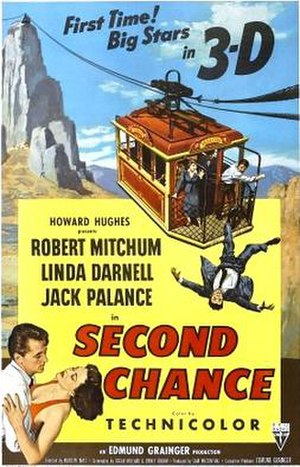 Second Chance (1953 film) - Theatrical release poster