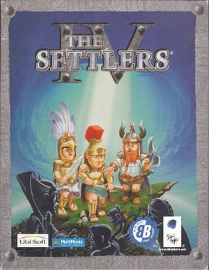 The Settlers IV - European cover art