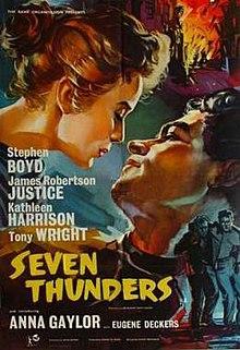 Seven Thunders (film) - Wikipedia