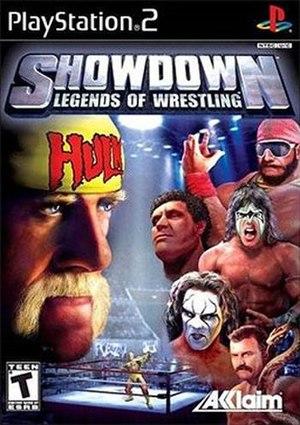 Showdown: Legends of Wrestling - Image: Showdown Legends of Wrestling Coverart
