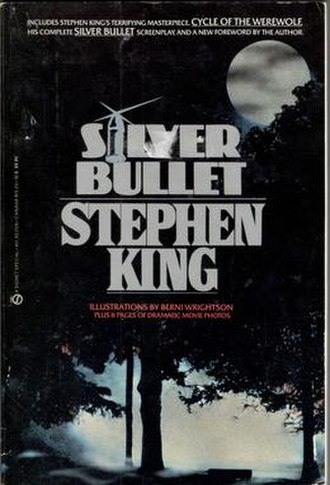 Cycle of the Werewolf - Silver Bullet paperback cover